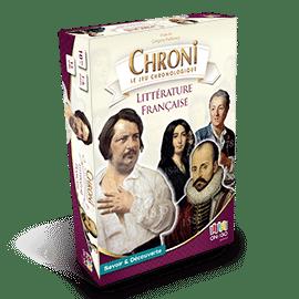 Boite 3D Chroni Littérature francaise