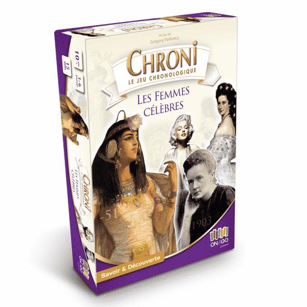 Boite Chroni Les Femmes Célèbres