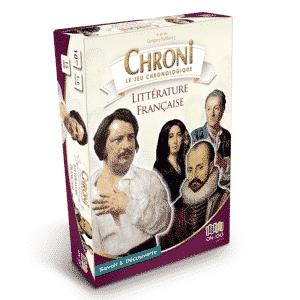 Boite Chroni Littérature Francaise