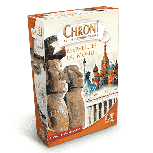 Boite Chroni Les Merveilles du Monde