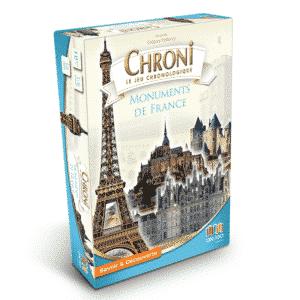 Boite Chroni Les Monuments de France