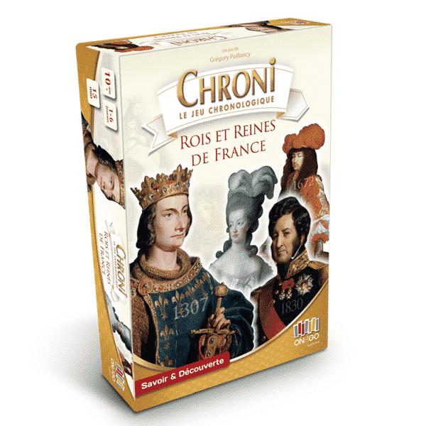 Boite Chroni Les Rois et Reines de France