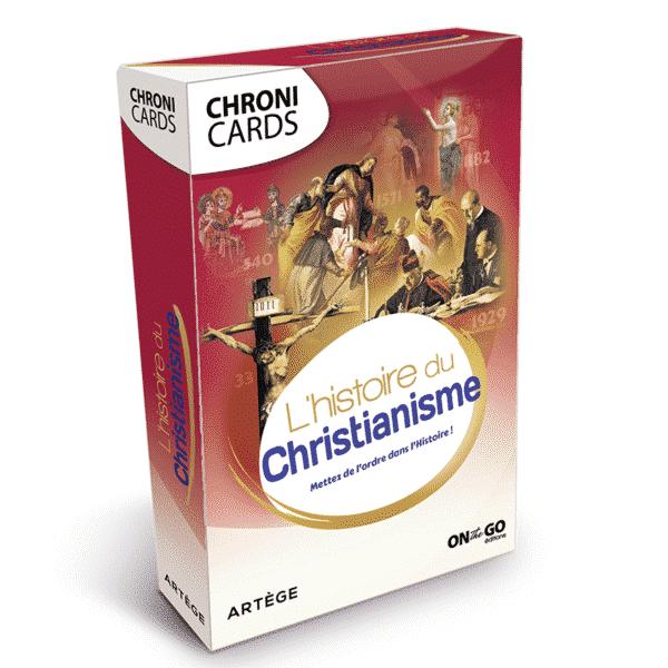 Boite ChroniCards Histoire du Christianisme
