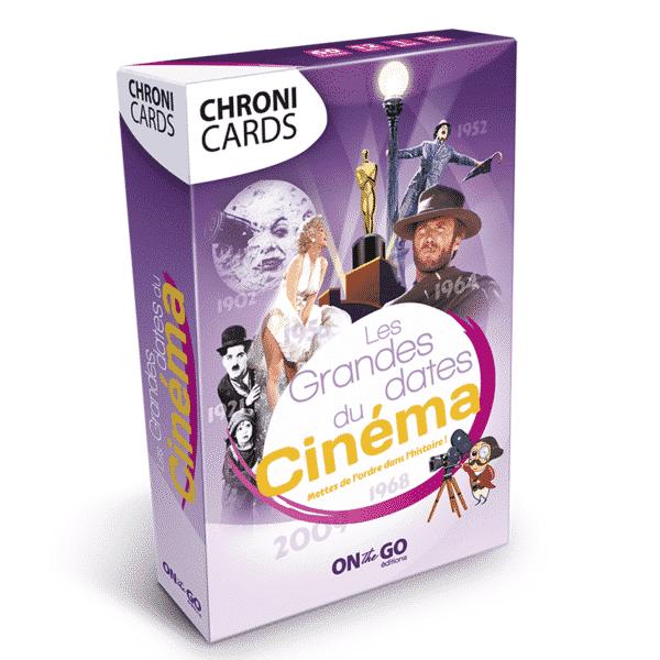 Boite ChroniCards Histoire du Cinéma