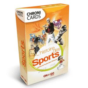 Boite ChroniCards Histoire des Sports