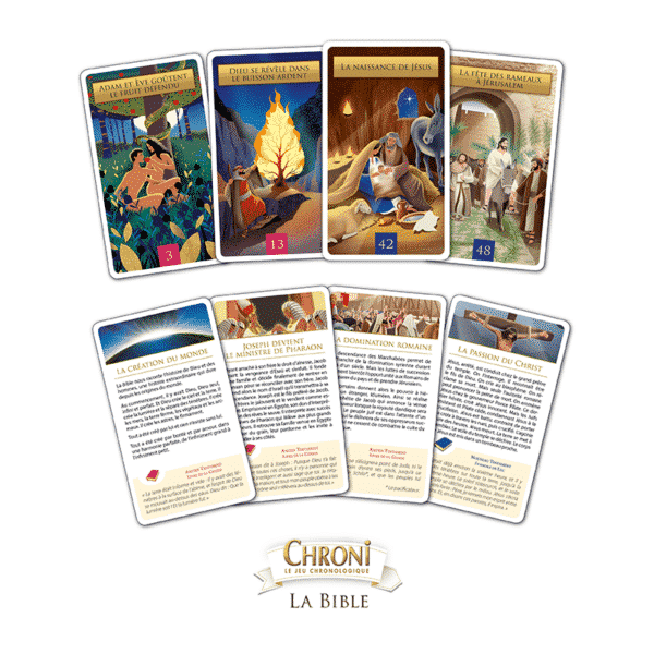 Chroni Bible Cartes