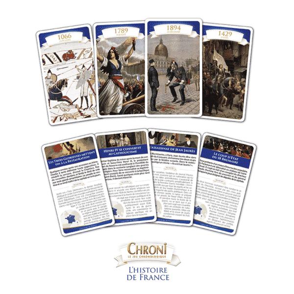 Chroni Histoire de France - Cartes