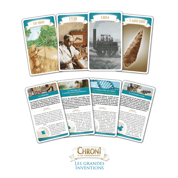 Chroni Grande Inventions Cartes