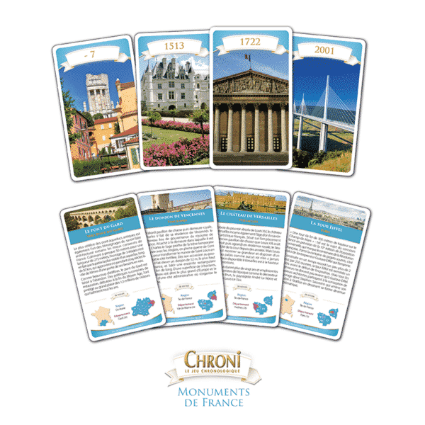 Chroni Monuments de France Cartes