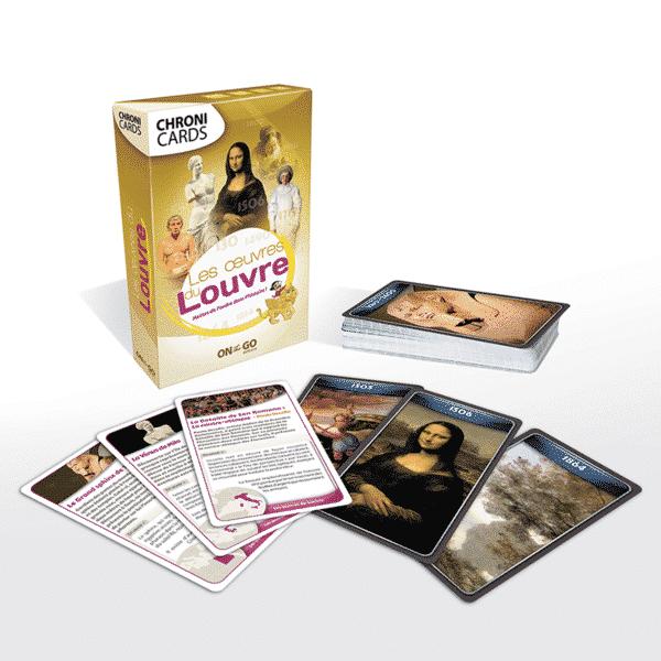 ChroniCards Louvre Boite avec Cartes