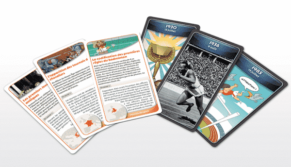 ChroniCards Histoire Sports Cartes