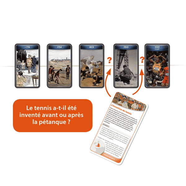 ChroniCards Histoire Sports Principe